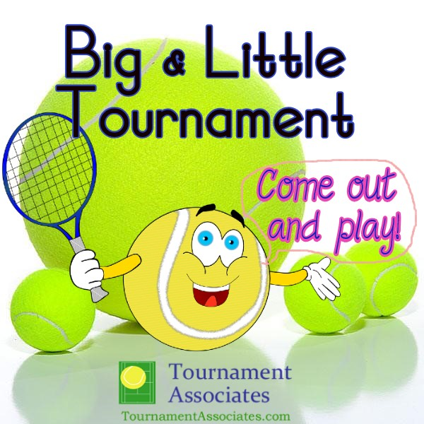 logo Tournament Associates Big & Little Junior One-Day Tournament