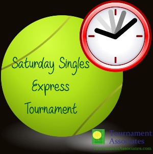 logo Tournament Associates Saturday Singles Express Tournament