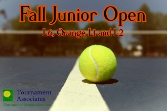 logo Tournament Associates Fall Junior Open (L6) and Labor Day L8 Tournaments