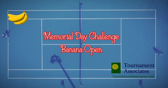logo Tournament Associates Memorial Day Challenge Banana Open Tournament