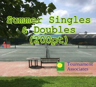 logo Tournament Associates Singles & Doubles Tournament